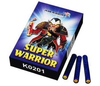 Петарды SUPER WARRIOR (60 зарядов)