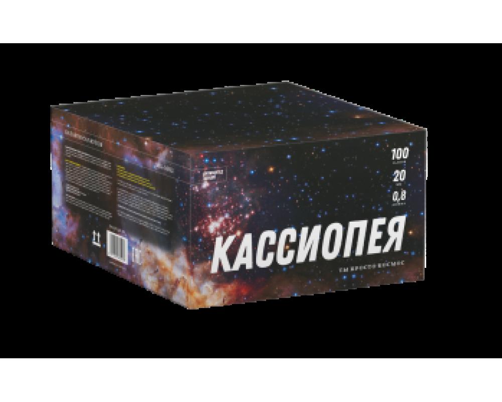Батарея салютов Кассиопея (Фейерверк 100 залпов)