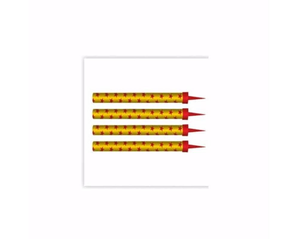 Тортовые свечи Фонтан ТС-1030 (уп.4шт)