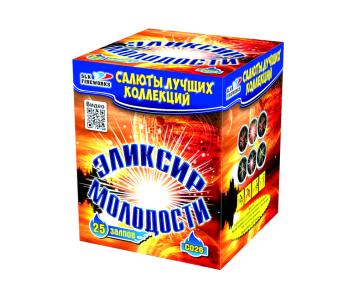 Батарея салютов Эликсир молодости (Фейерверк 25 залпов)