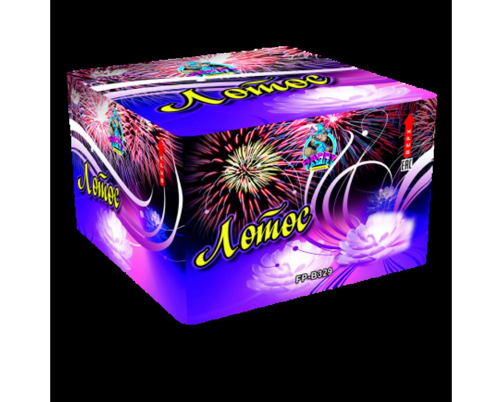 Батарея салютов Лотос (Фейерверк 100 залпов)