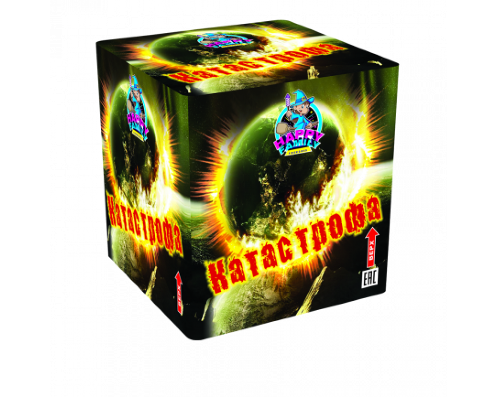 Батарея салютов Катастрофа (Фейерверк 36 залпов)